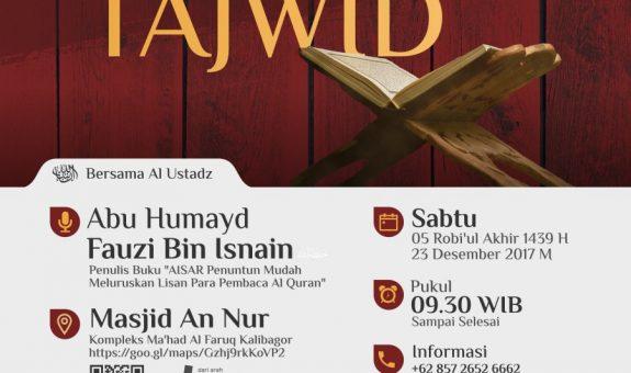 Dauroh Tajwid Sehari ( Teori dan Praktek Kitab Aisar )